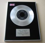 ROD STEWART - MAGGIE MAY PLATINUM single presentation DISC
